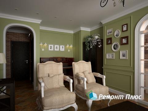Дизайн и ремонт гостиной комнаты